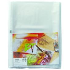 Пакет-файл, А3, РР, 40мкн, прозр., уп.20шт., 5116, Scholz