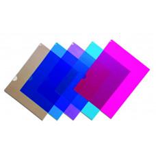 Файл-папка (уголок) A4, PР  плотная цвета в ассортименте 5024, NORMA