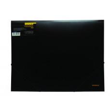 Папка на резинке А3 РР 550мкн, чёрн, 5064, Scholz