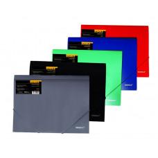 Папка на резинке А4 РР 550мкм цвета в ассортименте 10506, Scholz