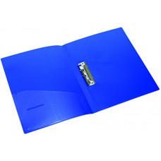 Папка с прижимом+карман А4  2см PР  5034, NORMA