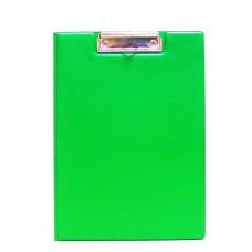 Папка-планшет  А4 с клипом PVC зелёная 5-545, Scholz