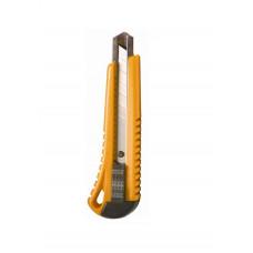 Нож канцелярский 18мм с автофиксатором с металлической направляющей 4-349, 4OFFICE