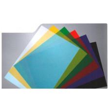 Обложка А3 прозрачная 200мк цвета ассорти (100шт)
