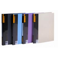 Папка-скоросшиватель+карман A5, 2см, книжный разворот 700мкм, паст. цветов 5069, Scholz