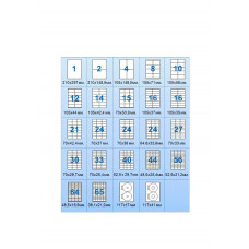 Этикетки на листах А4 (10шт) 105х59,4 100шт/уп