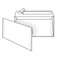 Конверт белый DL-евро 110х220 отрывная лента