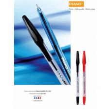 Ручка шариковая Piano PТ-1147 красная 1мм