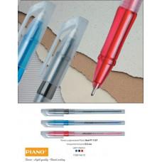 Ручка шариковая Piano PТ-1157 красная 0,5мм