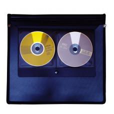 Папка на резинке А4+папка 225х260мм 6отд+2отд для CD РР чн 5096 Scholz