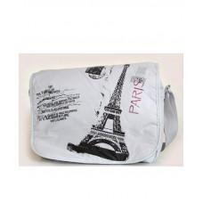 """Сумка """"Paris"""", 34*27*10см,Soft PL,сер.,9384,SAFARI, шт"""