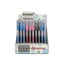 Ручка шар/масл.Finegrip PT-111А синяя Piano