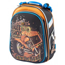 Ранец SchoolCase Bike 2 отд 39*28*21см Nylon PL CLASS арт 9631