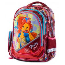 Ранец-рюкзак 2отд 38*28*19см CLASS арт 9699