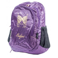 Ранец-рюкзак 3 отд 43*30*18см сливовый 9459 SAF
