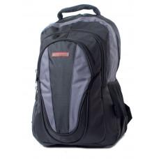 Ранец-рюкзак 3 отд 46*32*19см Double & 840D PL черн-сер 9642 SAF