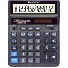 Калькулятор Daymon DС-230 бухгалтерский 12 р (203х158х31)