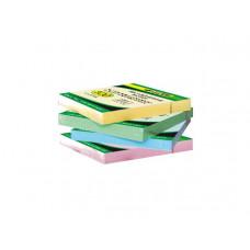 Бумага клейкая 51х76мм 100л цвет в ассортименте 4-421 4Office