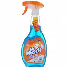 Мистер Мускул для стекла с нашатырным спиртом с колпачком-распылителем 500мл