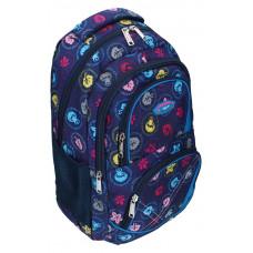 Ранец-рюкзак 2 отделения 43*30*19 см 9767 SAF