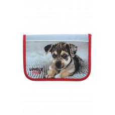 Пенал 1-яр c 1отверстием без наполнения Lovely Pets CLASS 97215