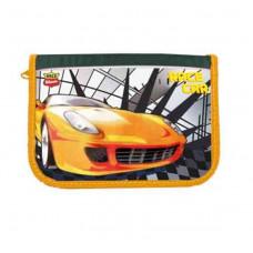 Пенал 1-яр c 1м отворотом с наполнением Race Car CLASS 97244