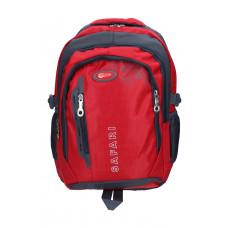 Ранец-рюкзак 3 отделения 46*31*17 см красный 9780 SAF