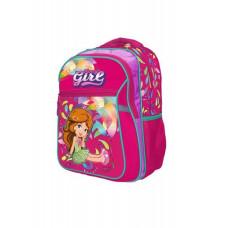 Ранец-рюкзак 2 отд 38*28*18см Jacuard PL RAINBOW 8-518