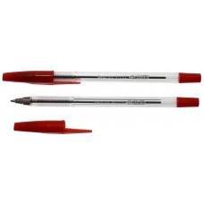 Ручка шариковая, 0,5мм, красная, 4-112, 4OFFICE