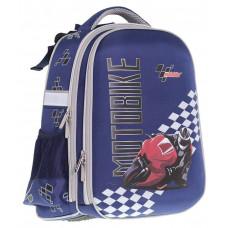 "Ранец SchoolCase ""Motobike"",2 отделения.,39*28*21см, PL, CLASS, арт. 9909"