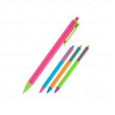 Ручка масляная автом. Reporter Color, синяя AB1069-02-A AXENT