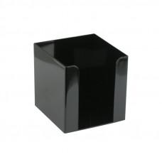D4005-01Куб для бумаги 90x90x90 мм, чернийDELTA/AXENT