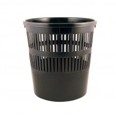 D4007-01Корзина для бумаги, 8л, черная DELTA/AXENT