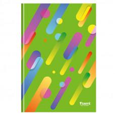 8422-304А Книга канцелярская А4 Colour Rain, 96л.кл.зел.AXENT
