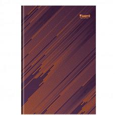 8423 Книга канцелярская А4 Diagonal, 192л., клет., оранжев.AXENT