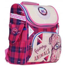 """Ранец Classic Case """"Funny Animals"""",2 отд.,34*27*14см,300D PL, CLASS, арт. 9920"""