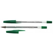 Ручка шариковая, 0,5мм, зеленая, 4-112, 4OFFICE
