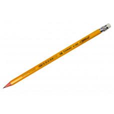 Карандаш графитный HB с ластиком 4-100 4OFFICE