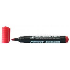 Маркер перман 1-3 мм красный 4-104 4Office