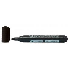Маркер перман 1-3 мм черный 4-104 4Office