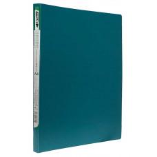 папка-скоросш.+карман, А4 500мкн, зел(бирюза).,PP, 4-213-04, 4OFFICE