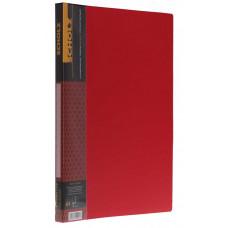 Папка А4 2см прижим+карман PP 700мкм цвета в  асортименте 05500, Scholz