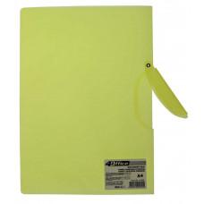 Папка с боковым зажимом  А4 PP 450 мкн цв в ас 4-256 4Office