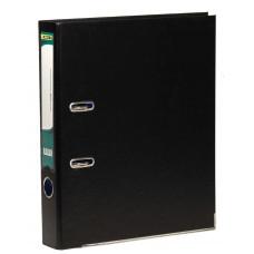 Регистратор (сегрегатор) А4 5см РP черный 4-247, 4OFFICE