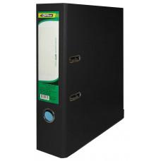 Регистратор (сегрегатор) А4 7см РP черный 4-246, 4OFFICE