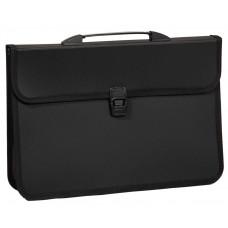 Портфель B4 2отд черный 4-252 4Office