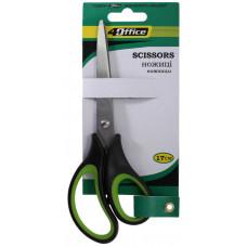 Ножницы 16 см универс эргоном резин ручки 4-367 4OFFICE