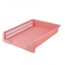 Лоток горизонтальний Pastelini, розовый,AXENT