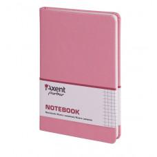 Книга записная 8208 Partner Lace, 125*195, 96л, кл, розовая,AXENT