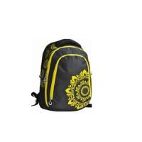 ранец-рюкзак,3 отд., 43*29*17см, Soft PL ,черн.,9456,SAF